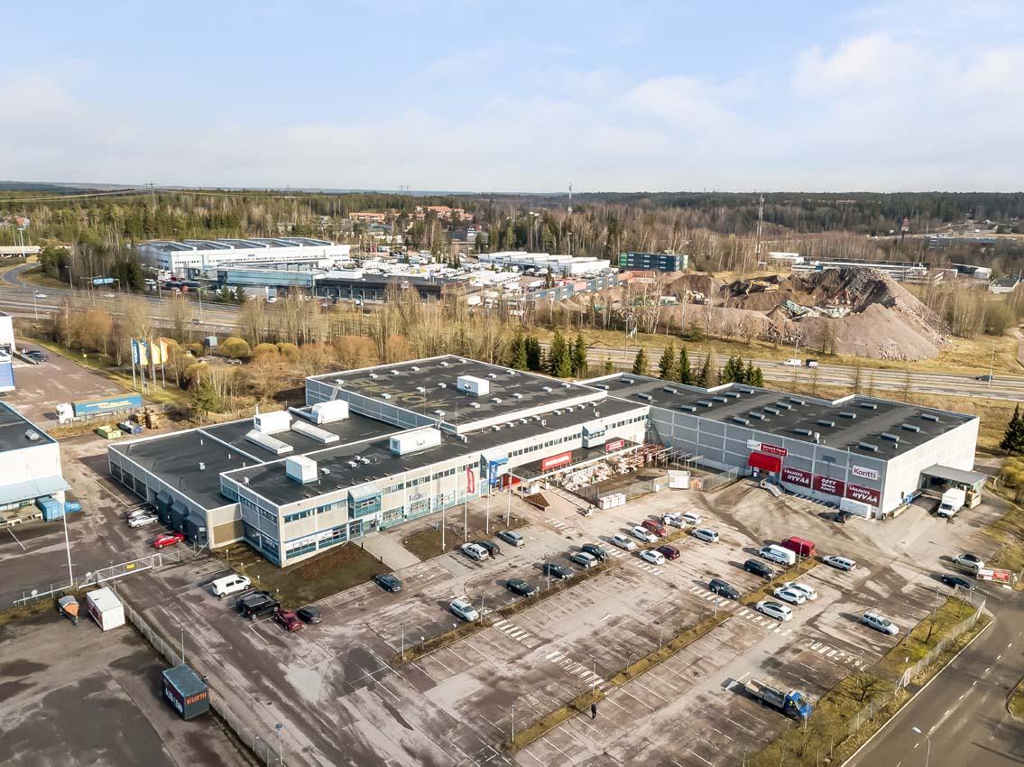Toimistotila 300 – 1280 m² Nimismiehenpelto 6