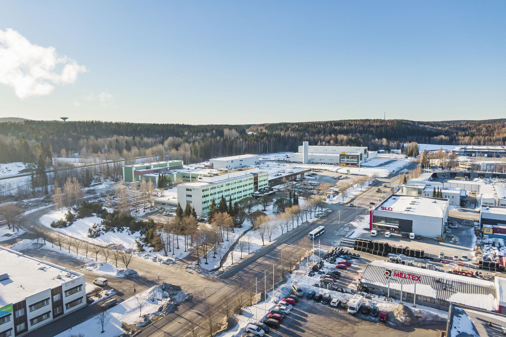 Toimisto 587 m², Patamäenkatu 7, Tampere