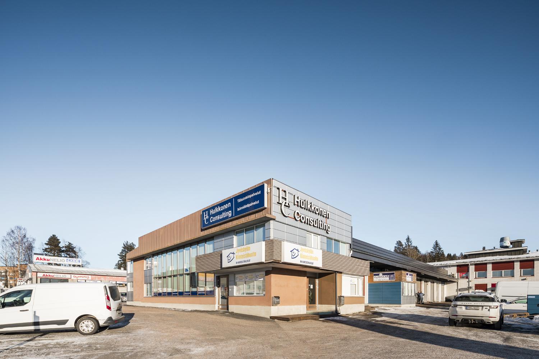 Varasto-/tuotantotila 148 m², Ahjokatu 26, Jyväskylä