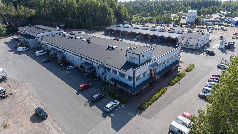 Toimisto-/tuotantotila 1060 m², Kuormaajantie 26, Jyväskylä
